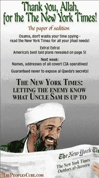 Osama reads the Times