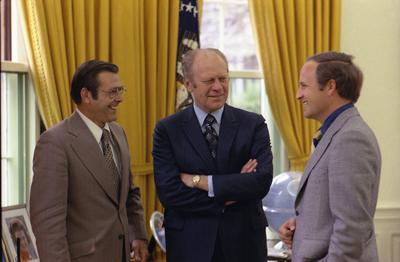 Ford w/Rumsfeld, Cheney