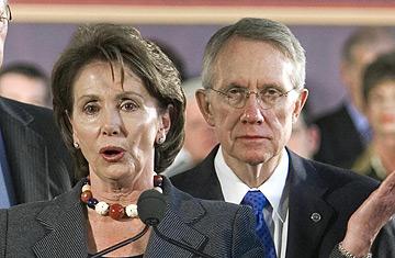 Pelosi Reid