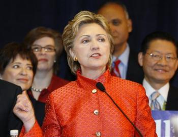 Hillary in San Diego