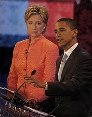 Hillary stare