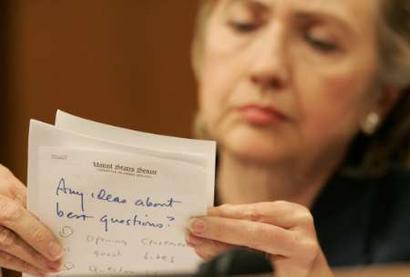 Hillary Note