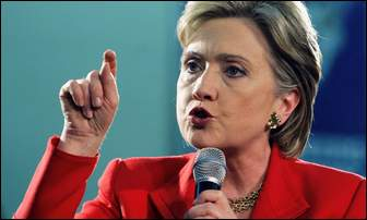 Hillary mad