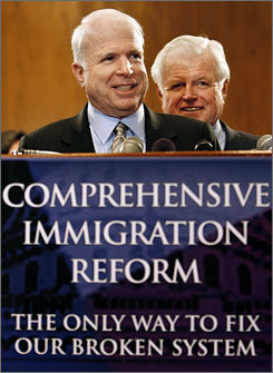 McCain-Kennedy Poster