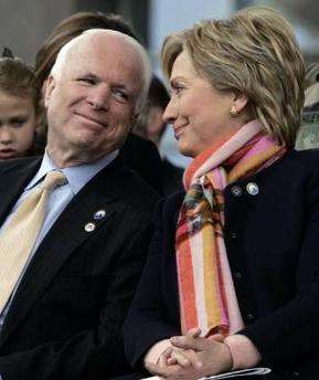 McCain and Hillary