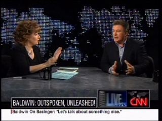 Joy Behar and Alec Baldwin on CNN's Larry King Live