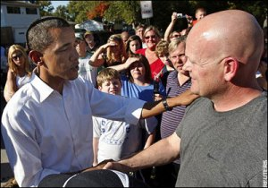 "Obama meets comrade ""Joe the Plumber"""