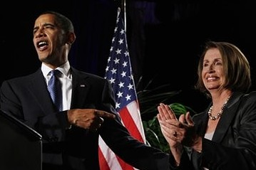 Obama in San Francisco, pitching for Nancy Pelosi